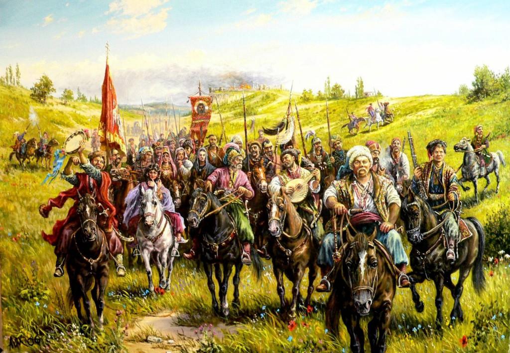 История-Белоруссии-казаки