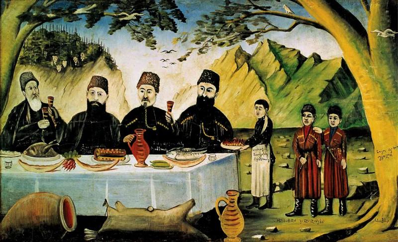 пиросмани-грузинский рай