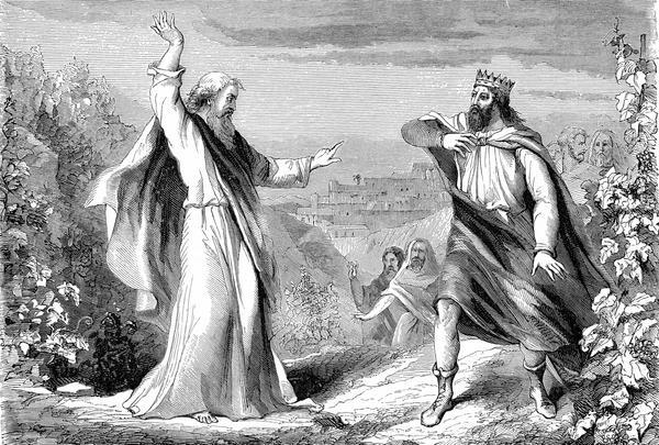 Elijah the prophet denounced Israel's King Ahab