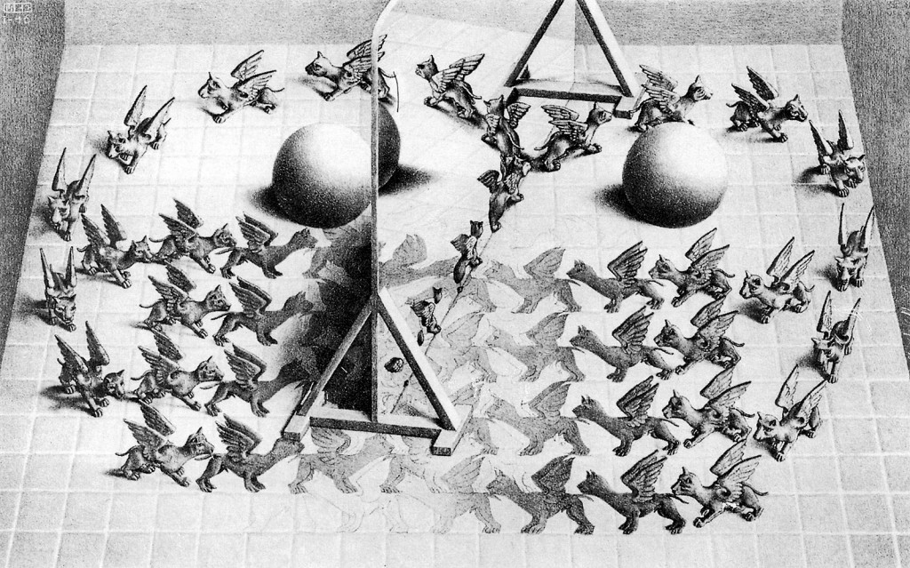 m_c_escher_selected_magic mirror