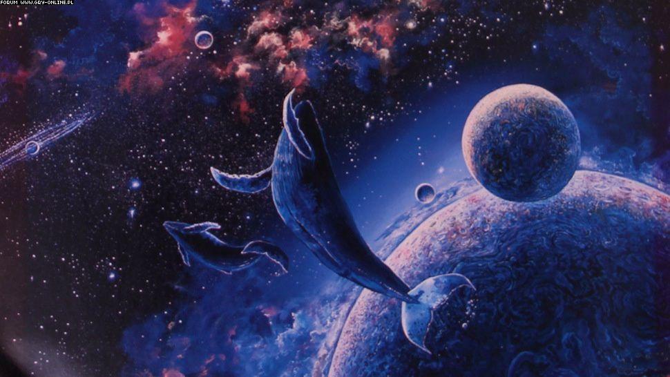 кит в космосе