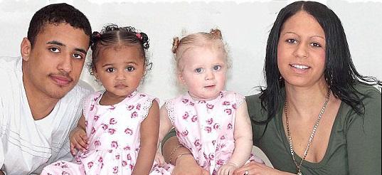 Black-White-Twins