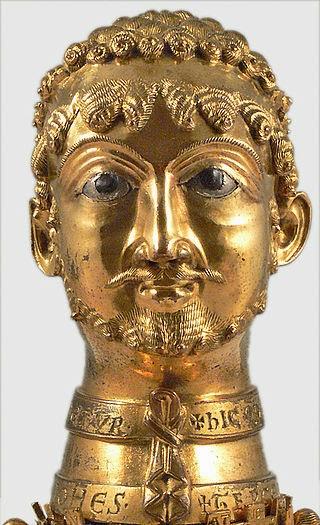 Frederick Barbarossa bust