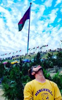 Флаг Афганистана в Кабуле
